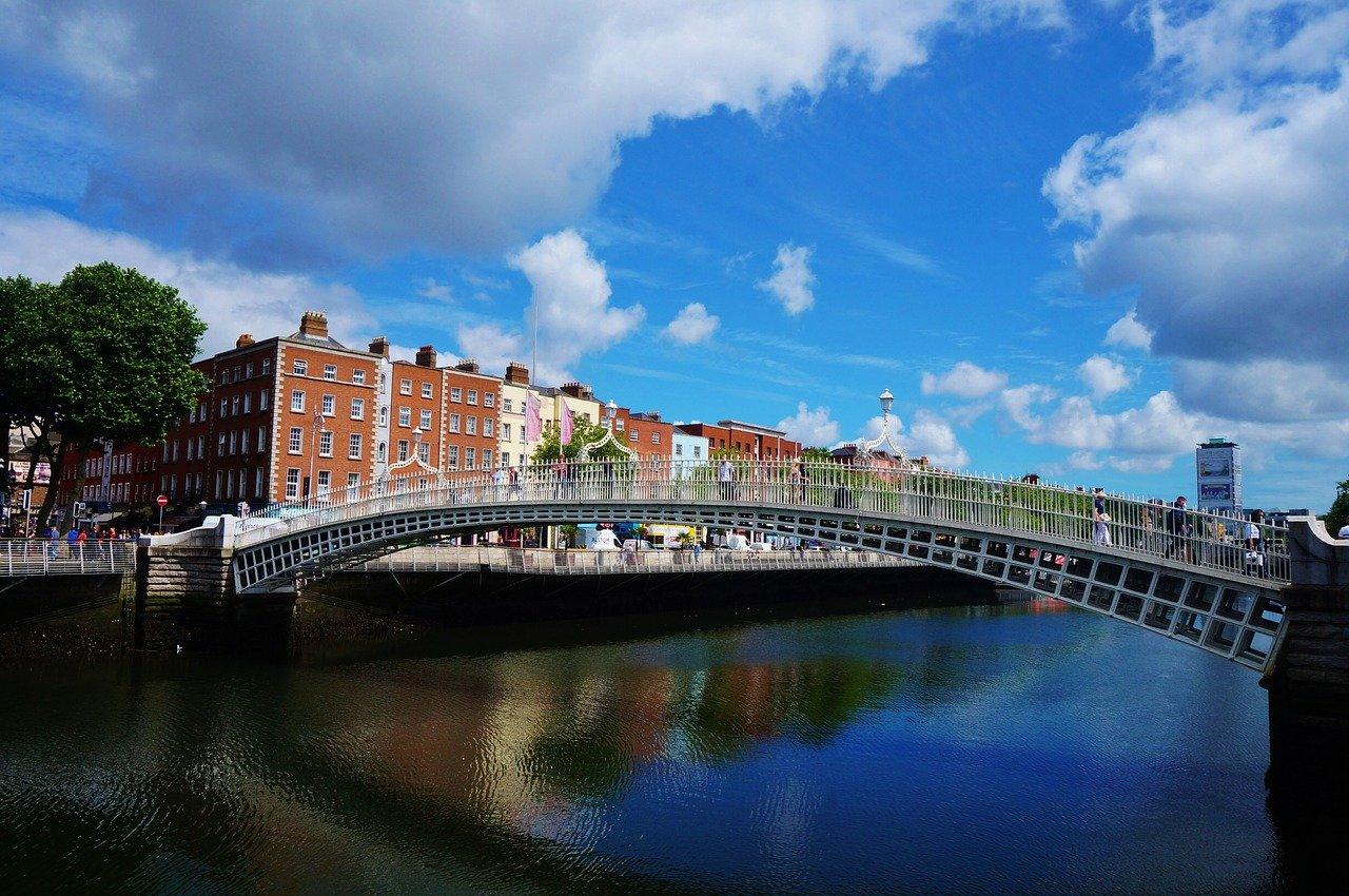 İrlanda-Liffey-Nehri