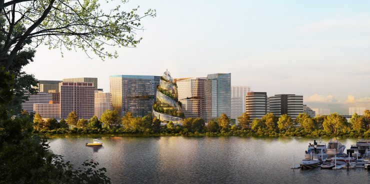 Amazon Arlington'daki İkinci Genel Merkezi Tasarımı1